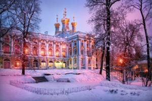 Silvester in St. Petersburg: Katarinenpalast