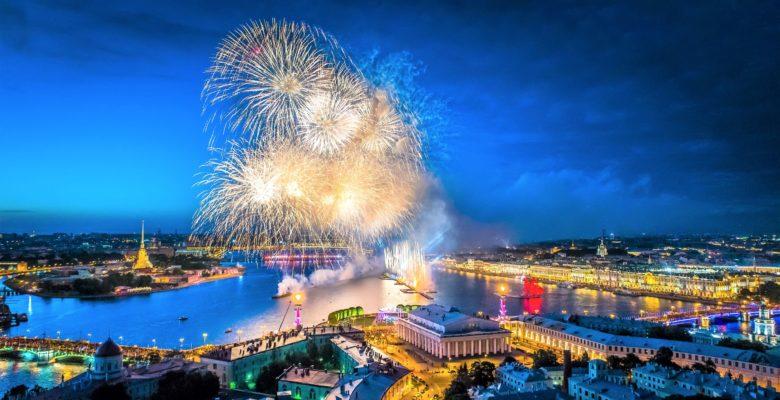 Premium Weiße Nächte St. Petersburg