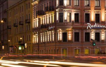 Fassade - Hotel Sonja, St. Petersburg