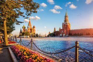 Flusskreuzfahrt Moskau St. Petersburg, Roter Platz Moskau