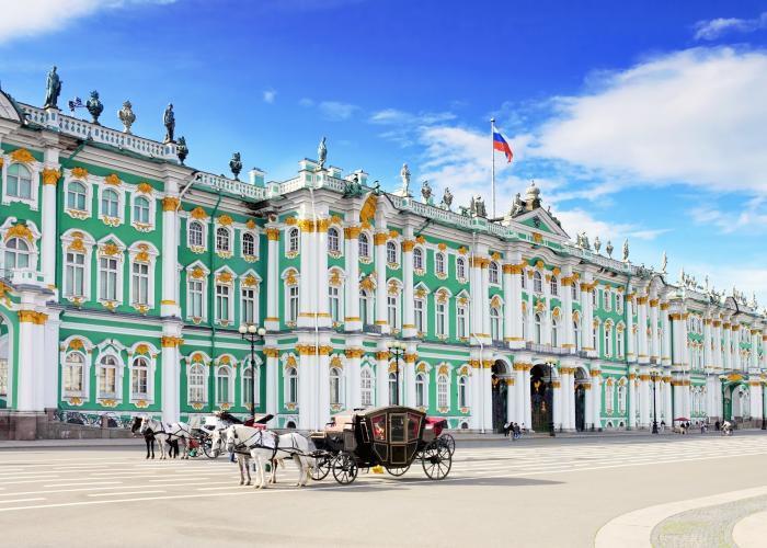 Eremitage in St. Petersburg