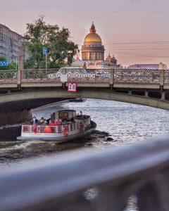 Fluss Moika in St. Petersburg