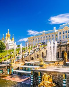 Zarenresidenz Peterhof St. Petersburg