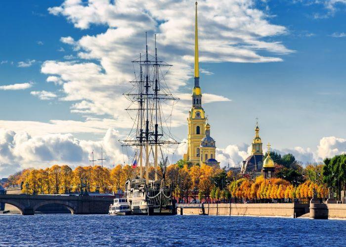 Peter-Paul-Festung St. Petersburg