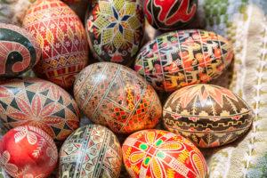 Ostern in Russland. Ostereier